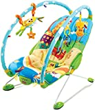 Tiny Love Gymini Bouncer Chair with Music, Newborn Baby Bouncer with Removable Toy Bars and Pram and Pushchair Toys Suitable from Birth, 0-6 Months
