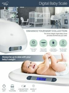 Smart Weight Baby Scale Information
