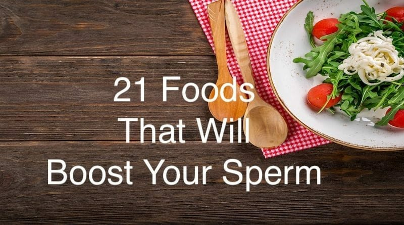 Foods For Male Fertility
