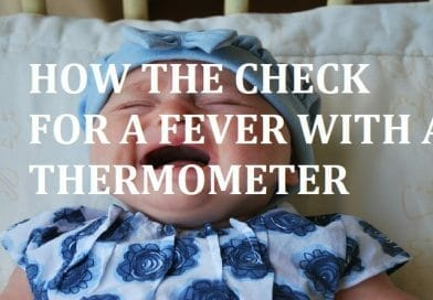 hOW TO TELL IF A BABY HAS A FEVER WITHOUT A THERMOMETER