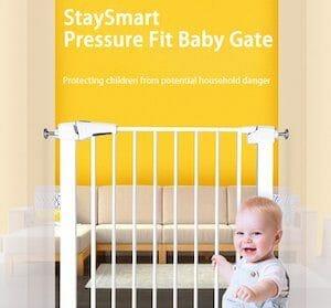 StaySmart Baby Gate Promo
