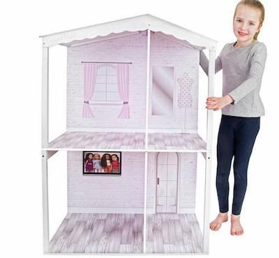 Chad Valley Designafriend Wooden Dolls House