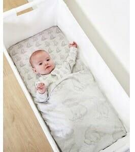 The Little Green Sheep Bear Crib Bedding Set 2