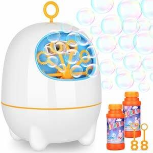 WloveTravel USB Charged Bubble Machine