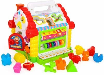 eastsun Early Education 1 Year Olds Baby Toy Multifunctional Musical Activity play center House